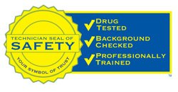 Technician Seal of Safety