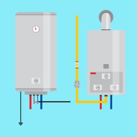 Tankless water Heater installation